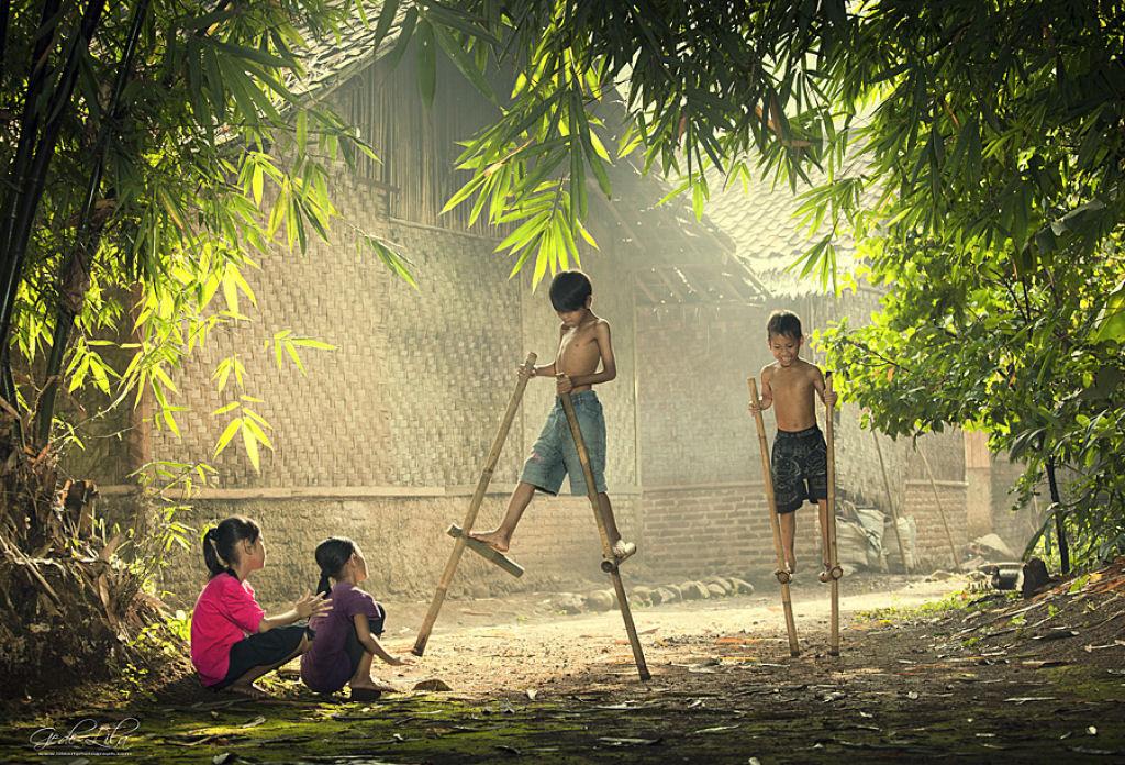 34 fotografías niños jugando mundo 03