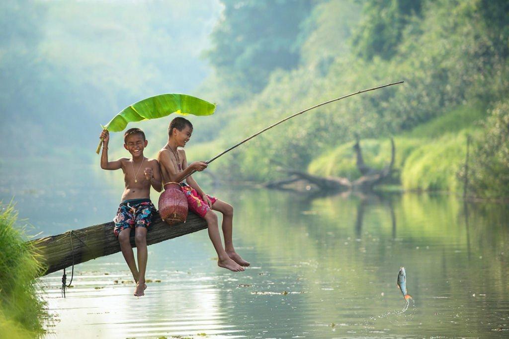 34 fotografías niños jugando mundo 16