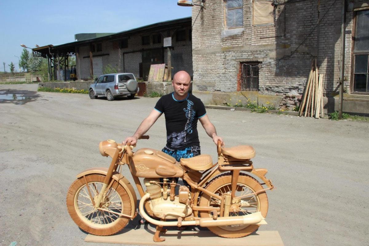 motocicleta de madera (4)