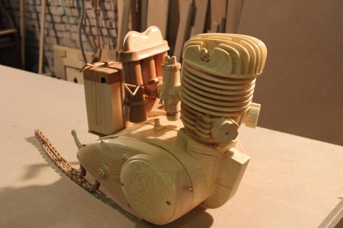 motocicleta de madera (6)