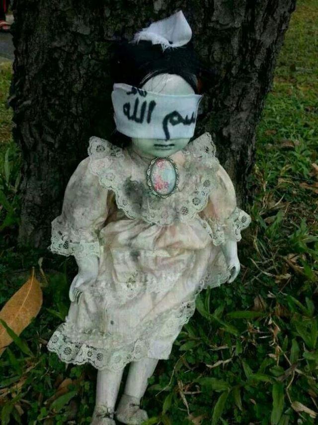 muñeca poseida singapur