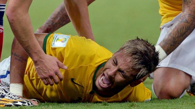 fractura de neymar