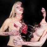 Impresionantes pinturas corporales de Gesine Marwedel