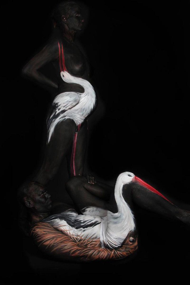 Gesine Marwedel pintura corporal (10)