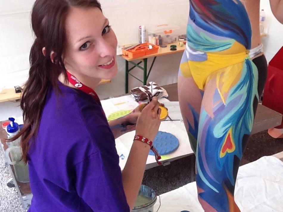 Gesine Marwedel pintura corporal (3)