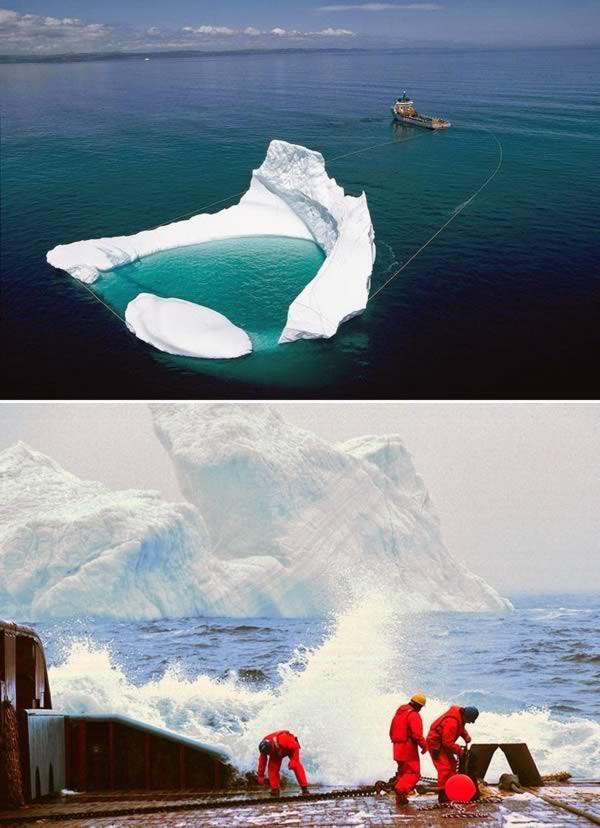 Desviador de icebergs