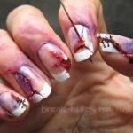 12 modelos de uñas pintadas de forma creativa, impresionante y aterradora