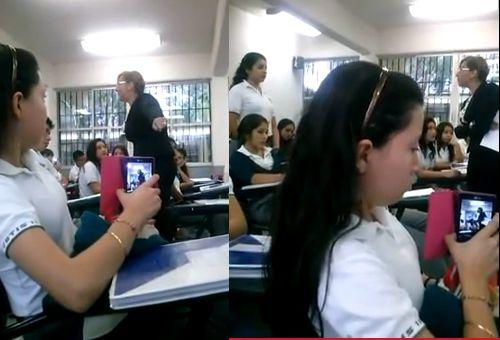 video marina y grimaldo maestra idalia