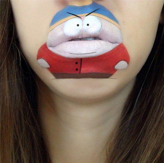 Maquillaje boca dibujos animados (8)
