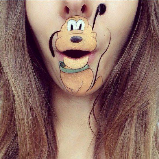 Maquillaje boca dibujos animados (2)