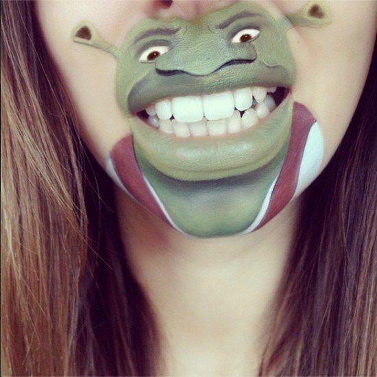 Maquillaje boca dibujos animados (11)