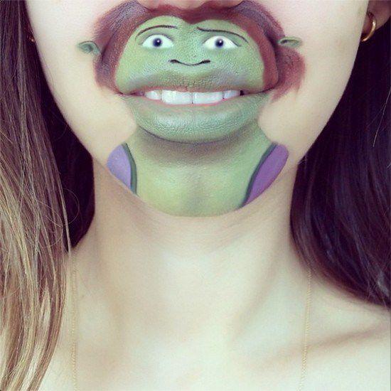 Maquillaje boca dibujos animados (10)