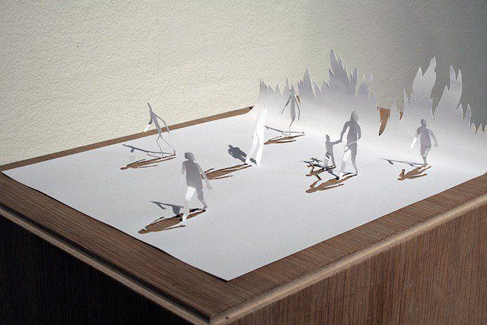 Peter Callesen esculturas papel (9)