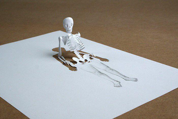 Peter Callesen esculturas papel (6)