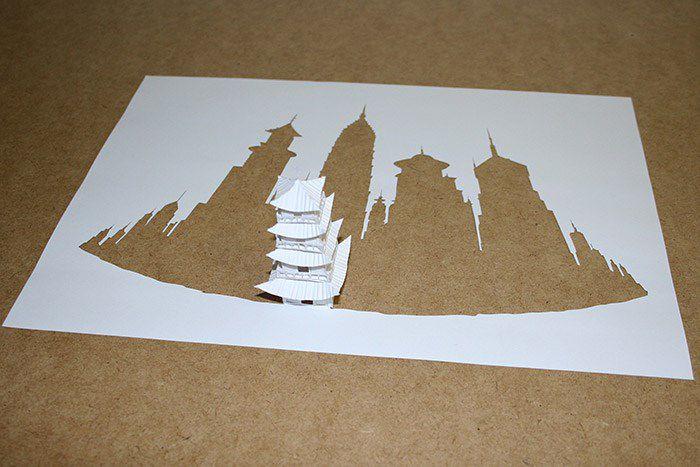 Peter Callesen esculturas papel (5)