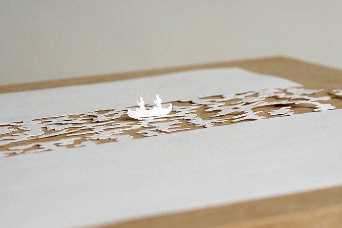 Peter Callesen esculturas papel (2)