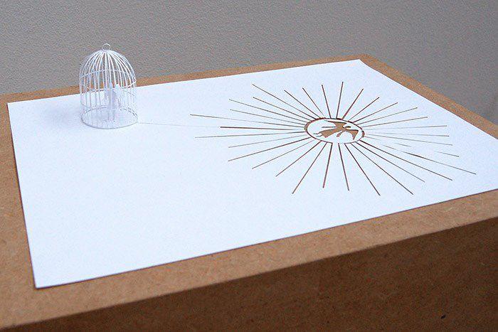Peter Callesen esculturas papel (18)