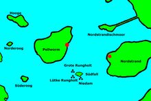 Rungholt ubicacion