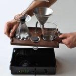 Barisieur: un despertador que te recibe con una café en la cama