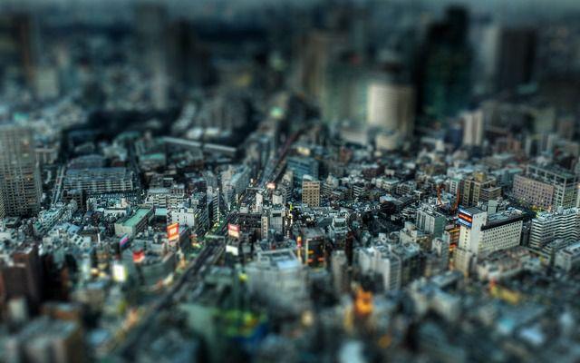 ciudad miniatura