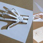 18 obras de arte hechas con nada más que hojas A4