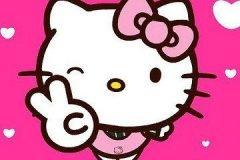 Hello Kitty saludo