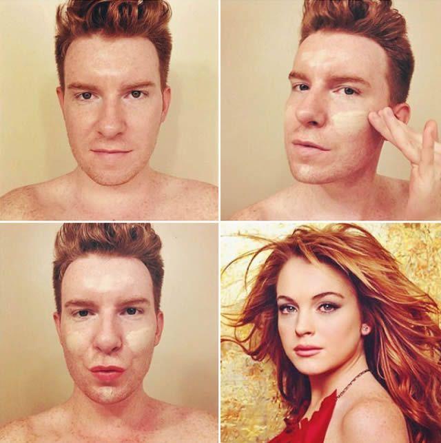 MakeupTransformation meme maravillas maquillaje (27)