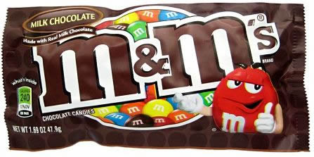 mms chocolate