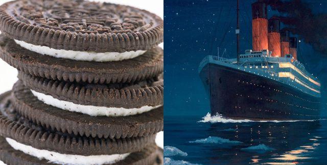 oreo titanic