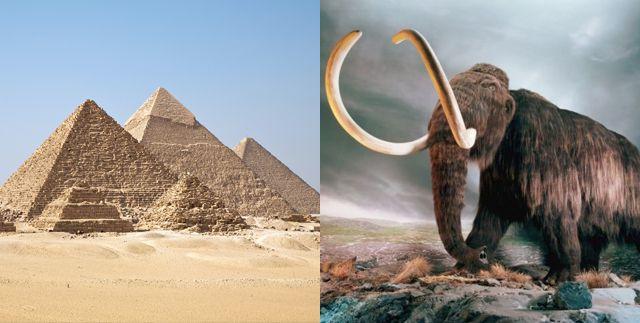 piramides mamuts
