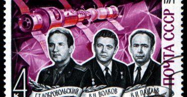 postal cosmonautas soyuz 11