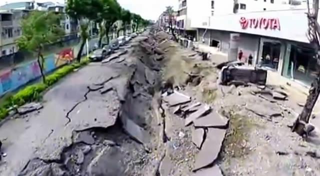 explosión que sacudió Taiwán
