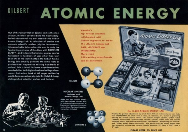 A.C. Gilbert Atomic Energy