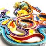 Arte en papel por Yulia Brodskaya