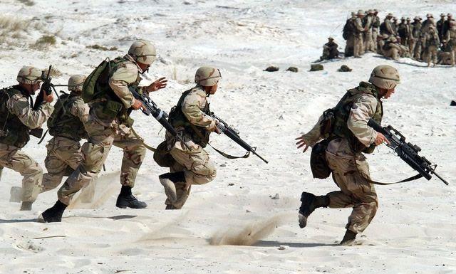 combate soldados