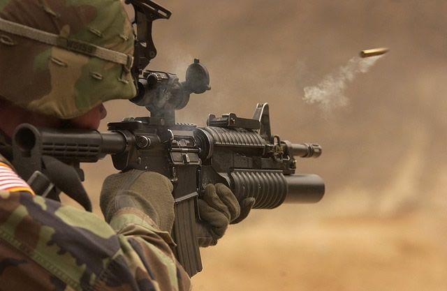 tiro arma fuego