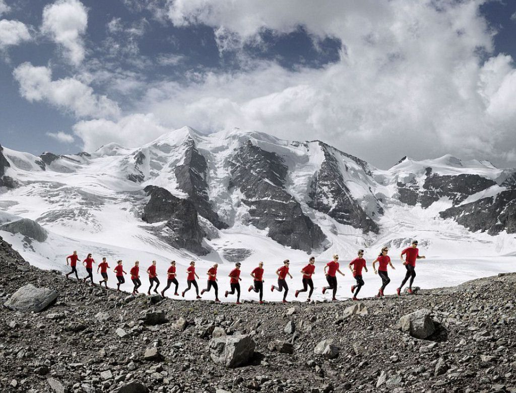 Mammut escaladores fotografía alpes suizos (7)