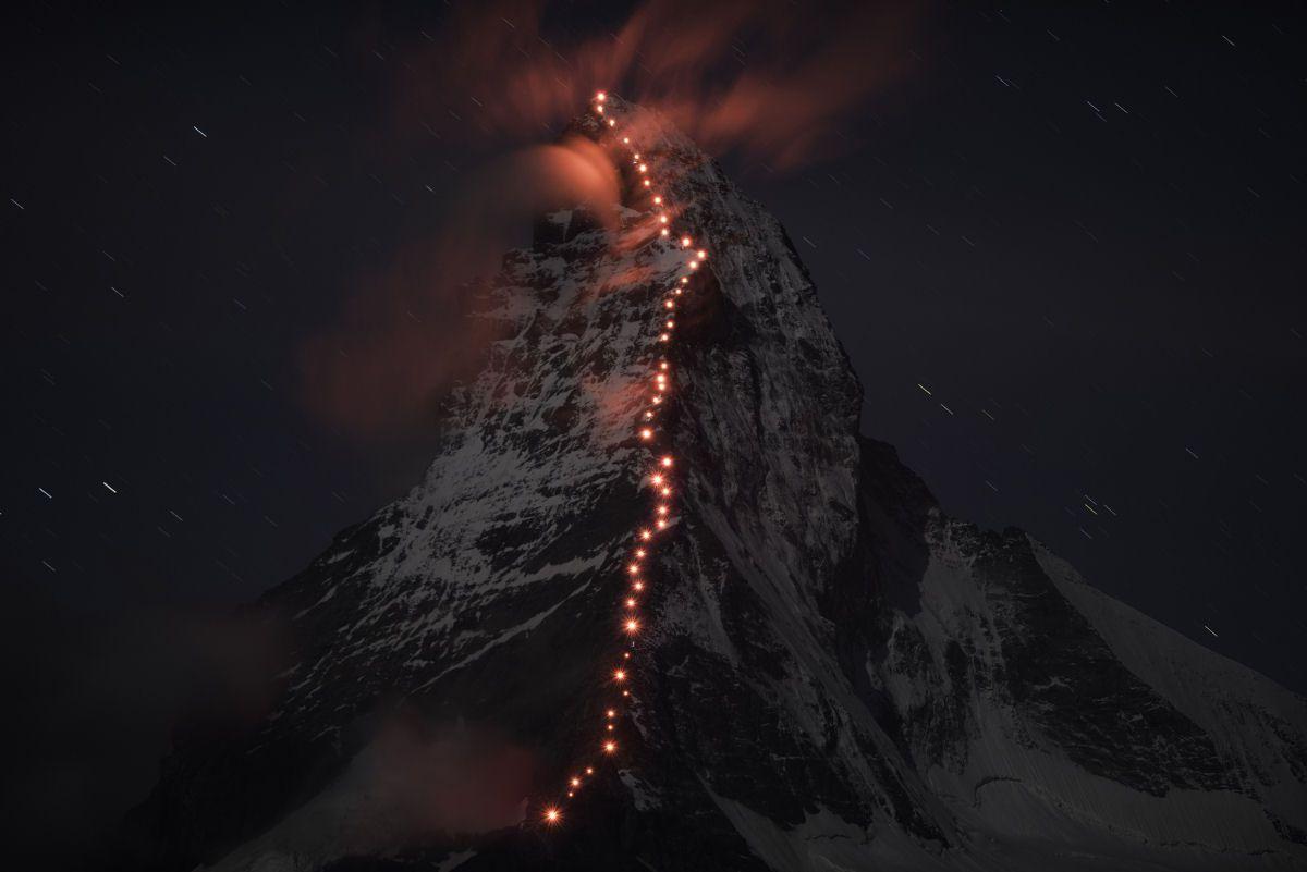 Mammut escaladores fotografía alpes suizos (6)
