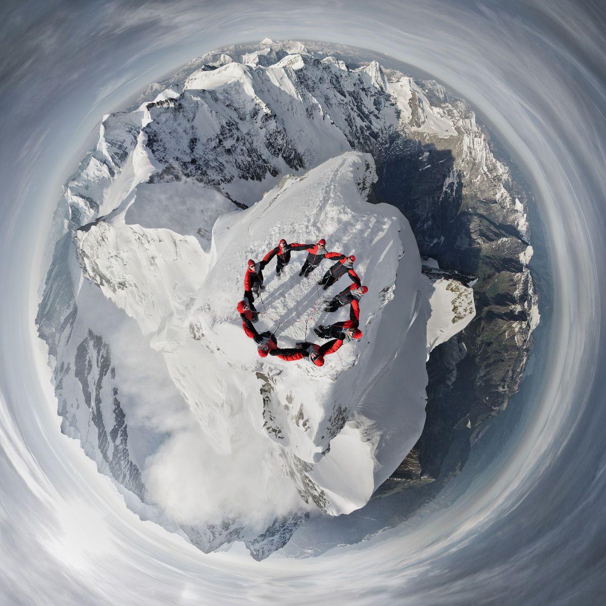 Mammut escaladores fotografía alpes suizos (5)