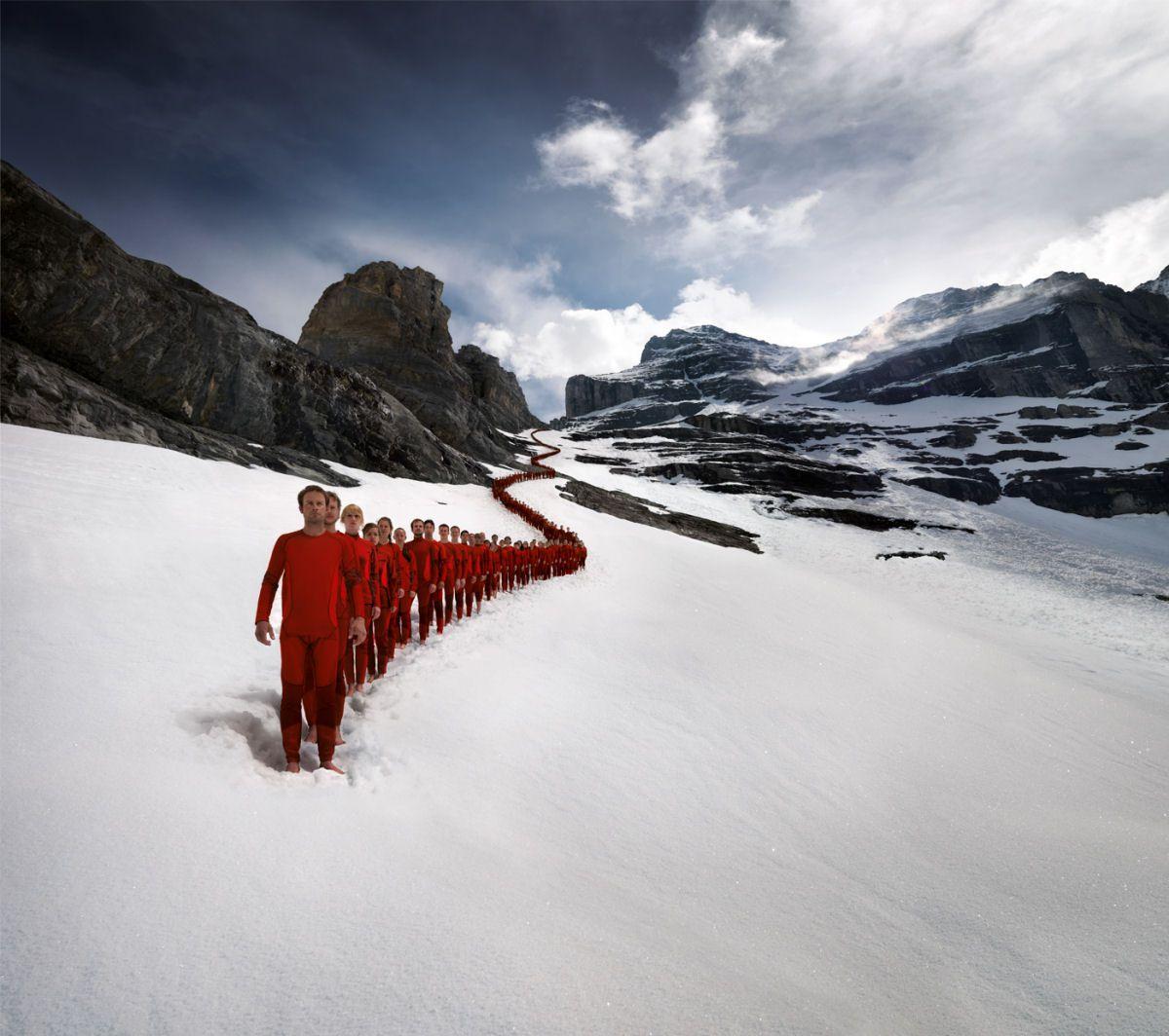 Mammut escaladores fotografía alpes suizos (4)
