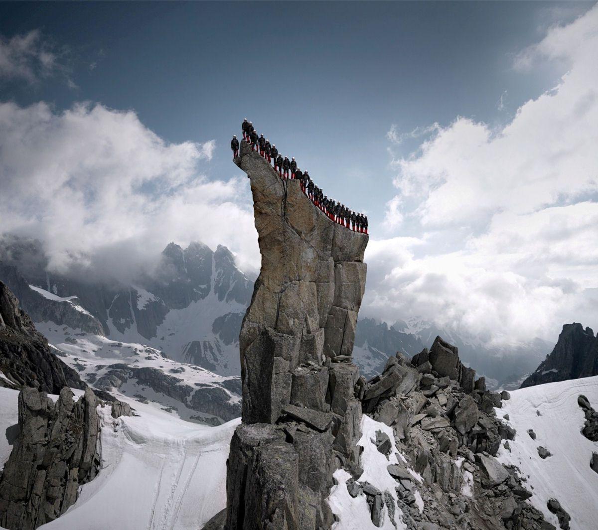 Mammut escaladores fotografía alpes suizos (3)
