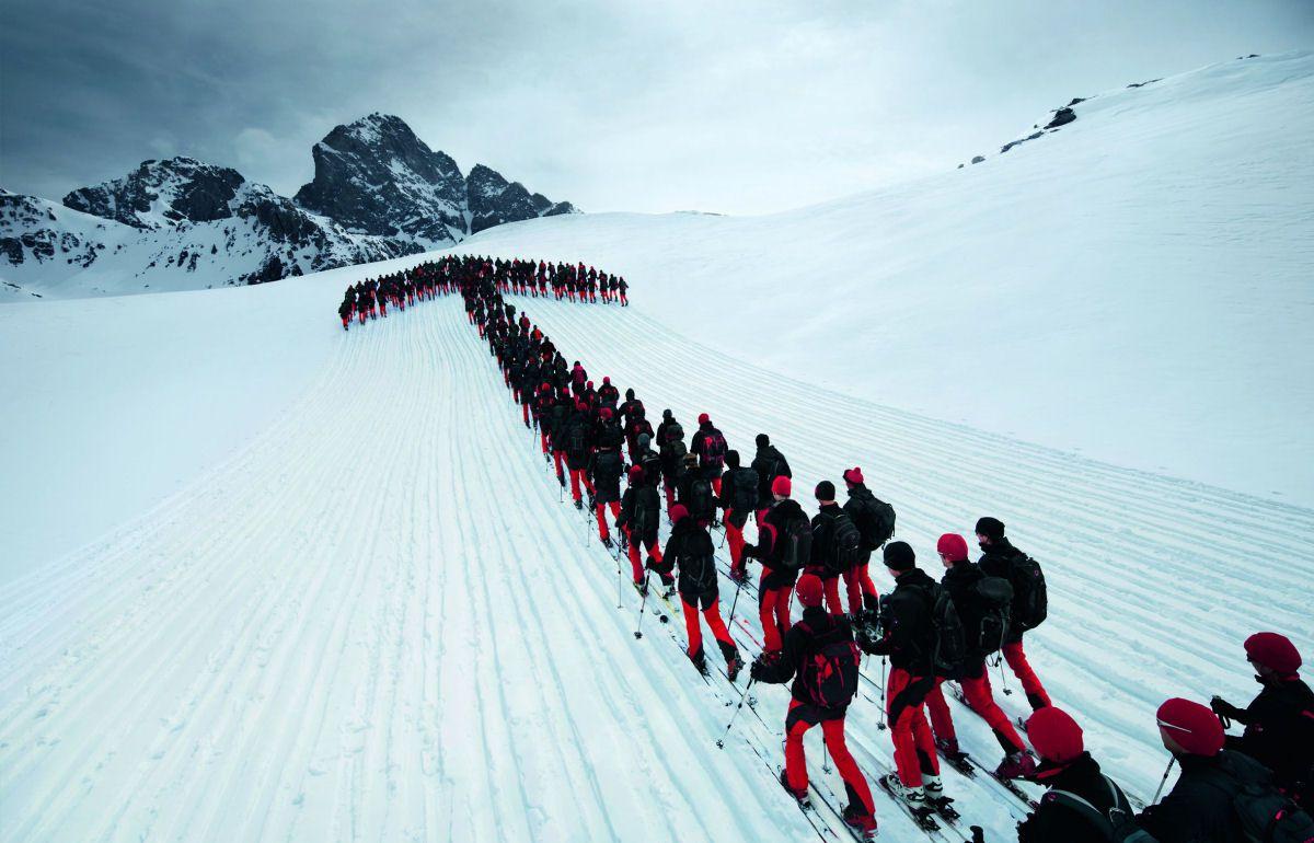 Mammut escaladores fotografía alpes suizos (14)