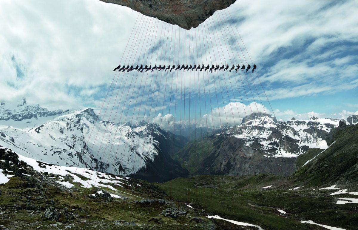 Mammut escaladores fotografía alpes suizos (13)