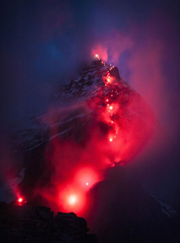 Mammut escaladores fotografía alpes suizos (9)