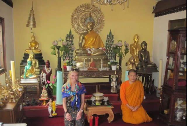 Zilla van den Born templo budista