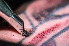 Video en cámara lenta muestra cómo funciona un tatuaje
