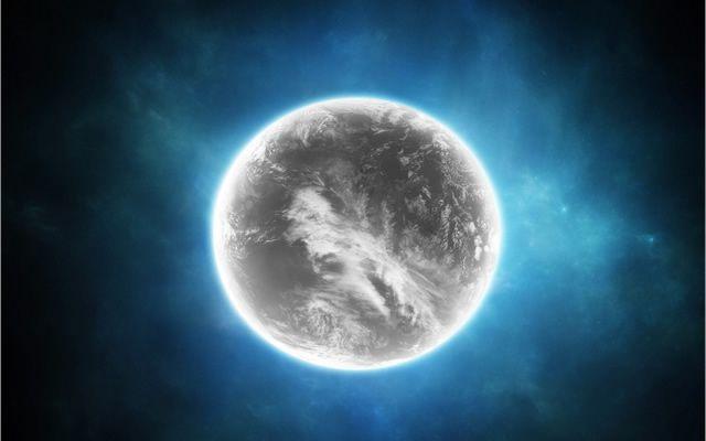 planeta gris