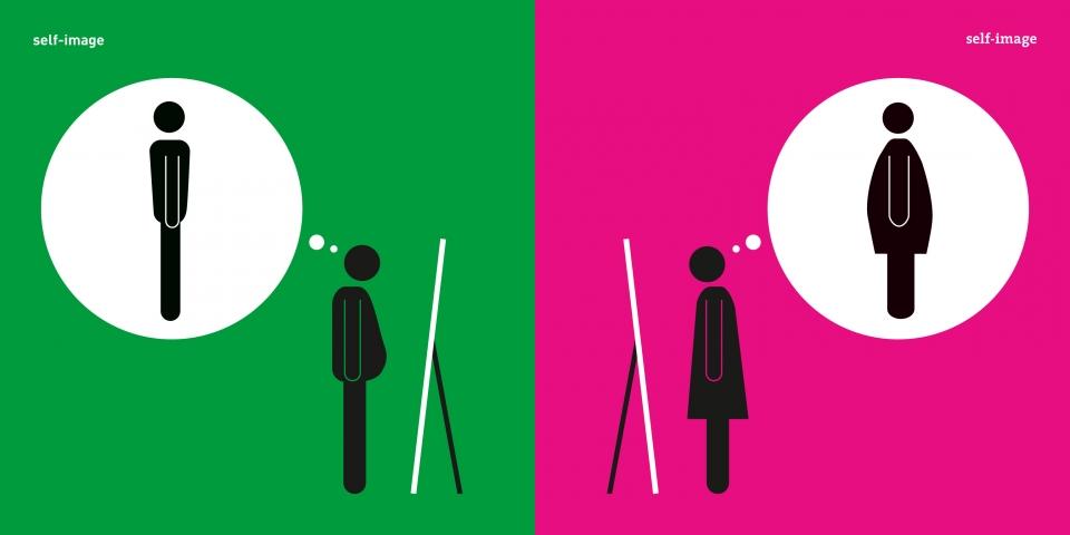 Yang Liu ilustraciones estereotipos hombres y mujeres (3)