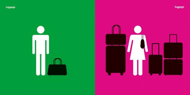 Yang Liu ilustraciones estereotipos hombres y mujeres (8)