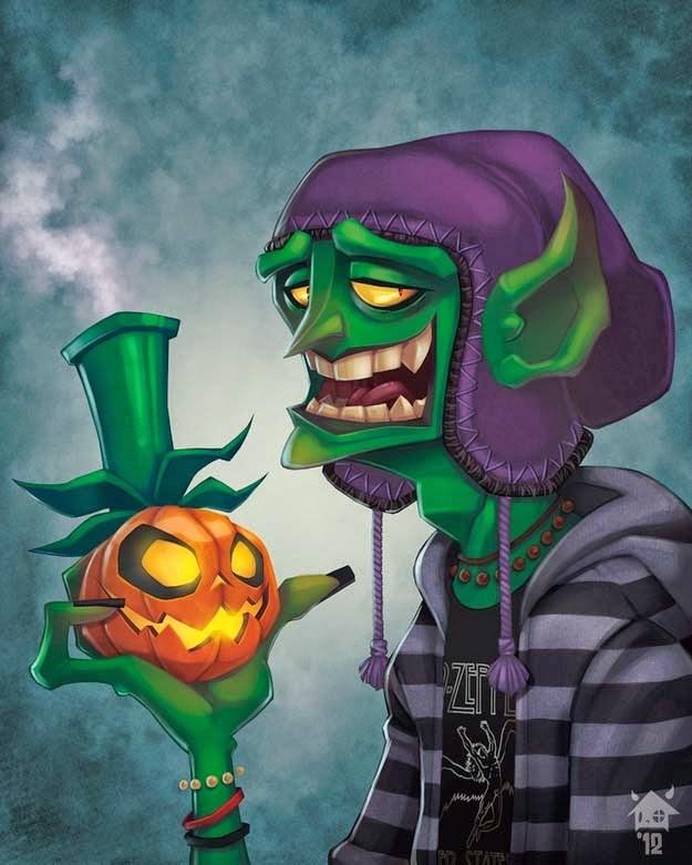super villano adolescencia duende verde(4)
